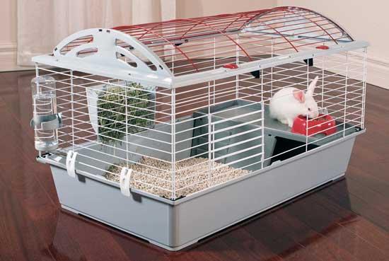 gabbia conigli ferplast 2