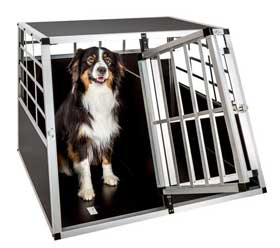 gabbia per cani acciaio-tectake