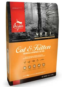 cibo gatti orijen-kittens